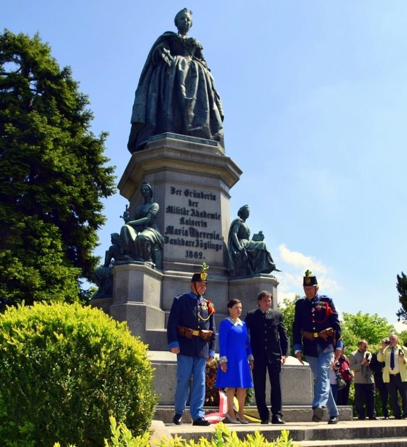 30-Gedenktag 300. Geb. K. Maria Theresia Wr Neustadt Teil 2 06.05.17